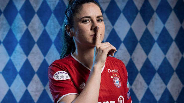 Bayern Munich Women midfielder Sarah Zadrazil
