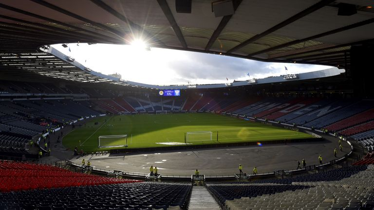 Hampden Park has been permitted to welcome around 12,000 supporters per game for the European Championships