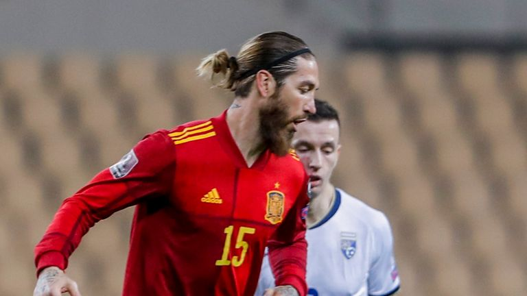 Sergio Ramos sustained the injury after coming on as a late substitute against Kosovo on Wednesday