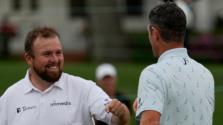 Shane Lowry said Justin Rose's 65 was 'a joy to watch'