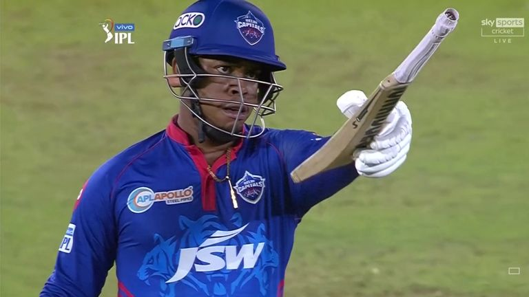 Shimron Hetmyer gave Delhi a chance with a blistering 23-ball half-century