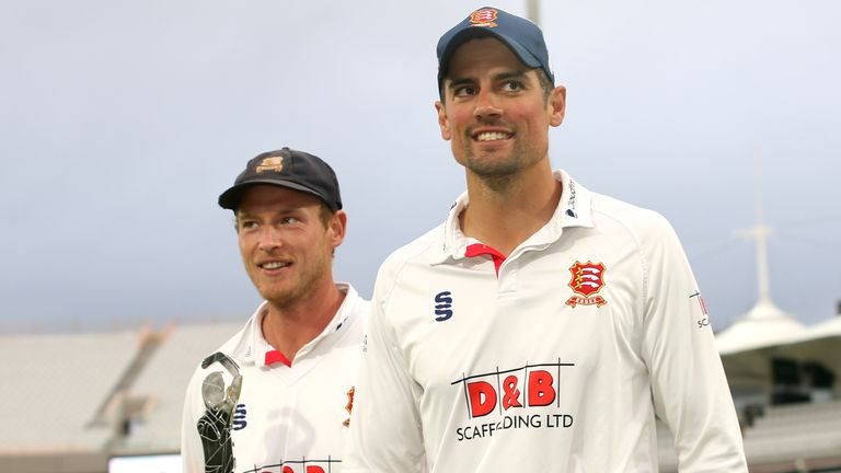 Essex won the County Championship in 2019 and the Bob Willis Trophy in 2020