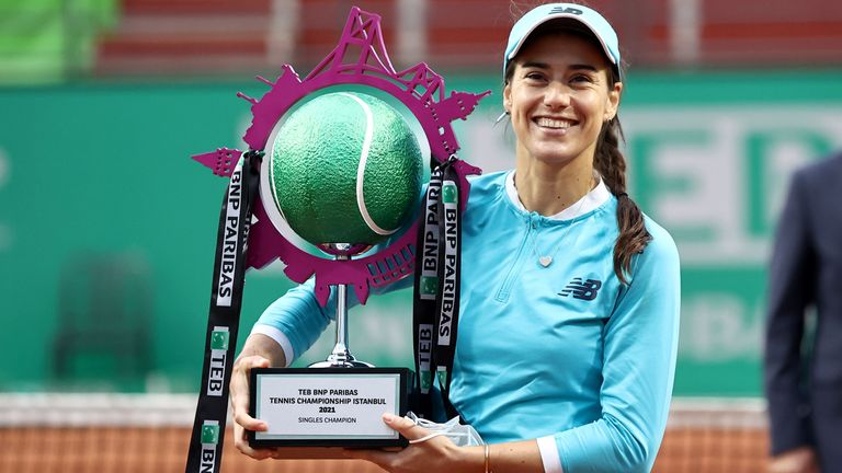 Sorana Cirstea claimed her second career WTA singles title at long last
