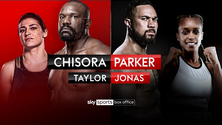 Chisora vs Parker and Taylor vs Jonas - SKY SPORTS BOX OFFICE