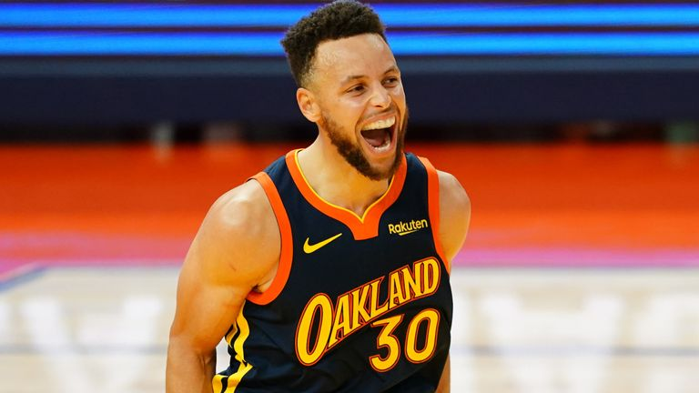 Steph Curry enters Monday night's game against the Denver Nuggets just 18 points shy of Wilt Chamberlain's franchise scoring record for the Warriors