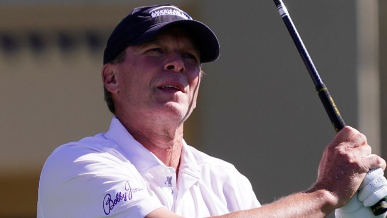 Steve Stricker returned to the winner's circle at the Chubb Classic in Florida