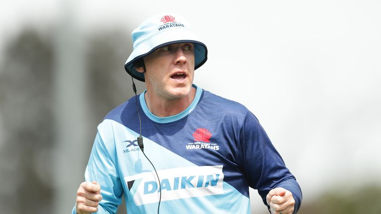Steve Tandy during his NSW days