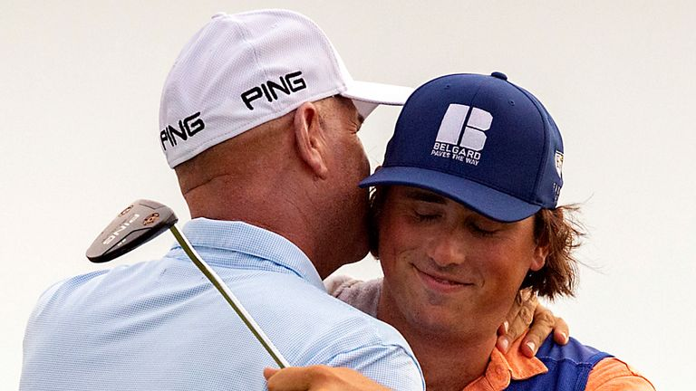 Stewart Cink claimed an eighth PGA Tour title at the RBC Heritage