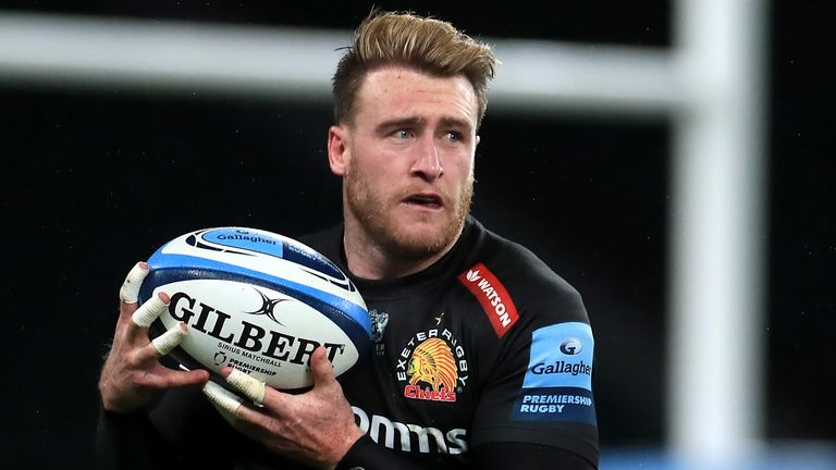 Hogg was part of the Exeter Chiefs squad which suffered Premiership final defeat to Harlequins on Saturday