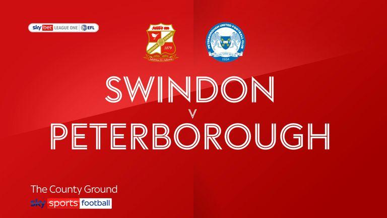 Swindon v Peterborough