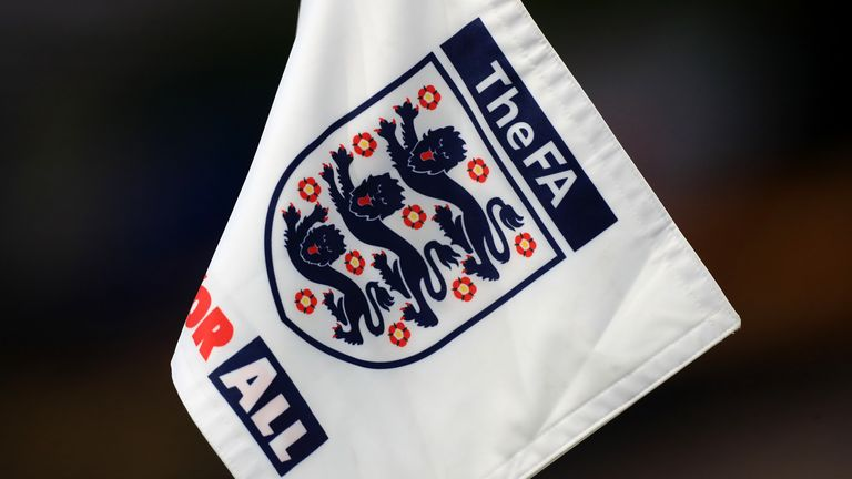 The FA, badge, logo (PA)