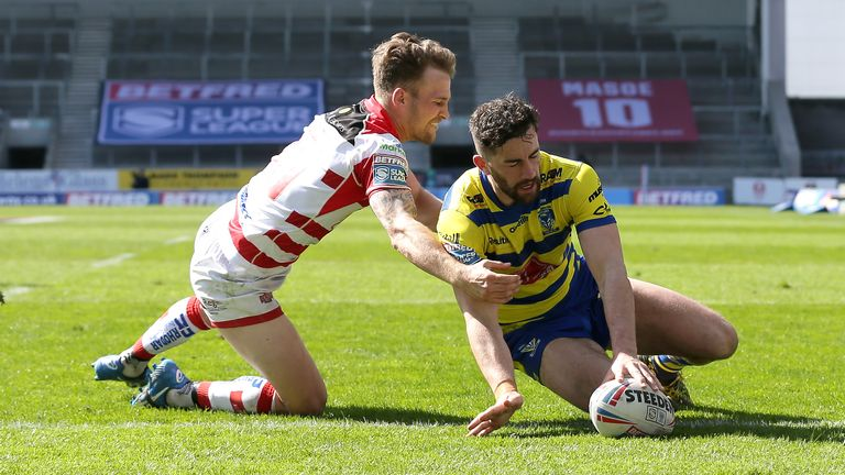 Leigh suffered a 44-12 defeat against Warrington in their last Super League fixture