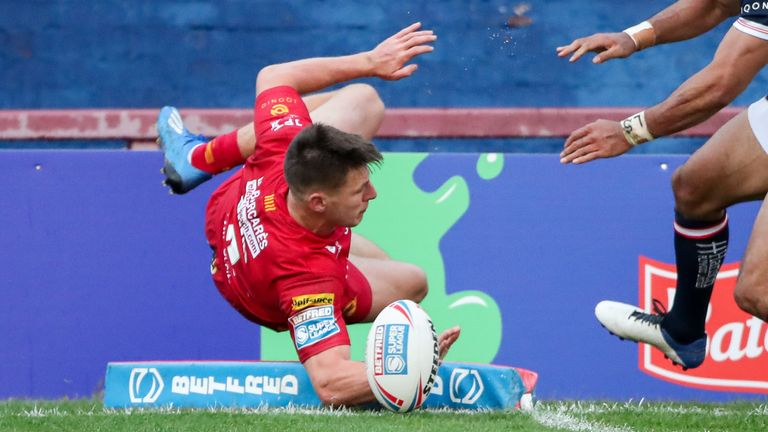Match Report – Wakefield 18-38 Catalans