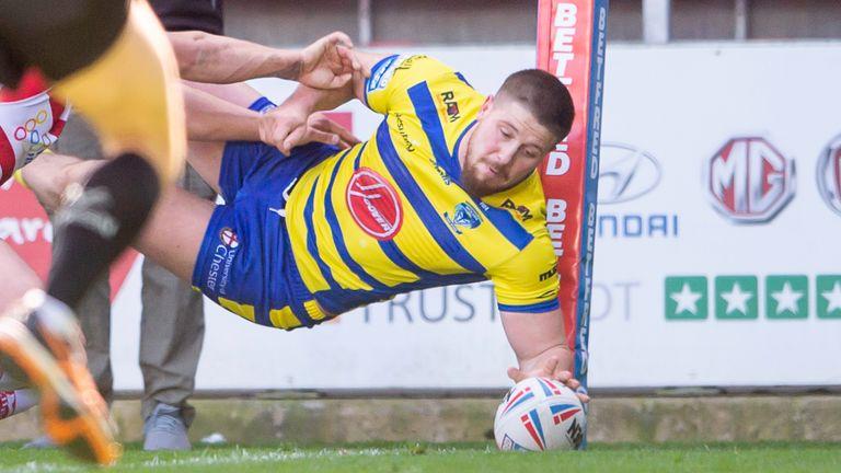 Tom Lineham will miss Warrington next three matches