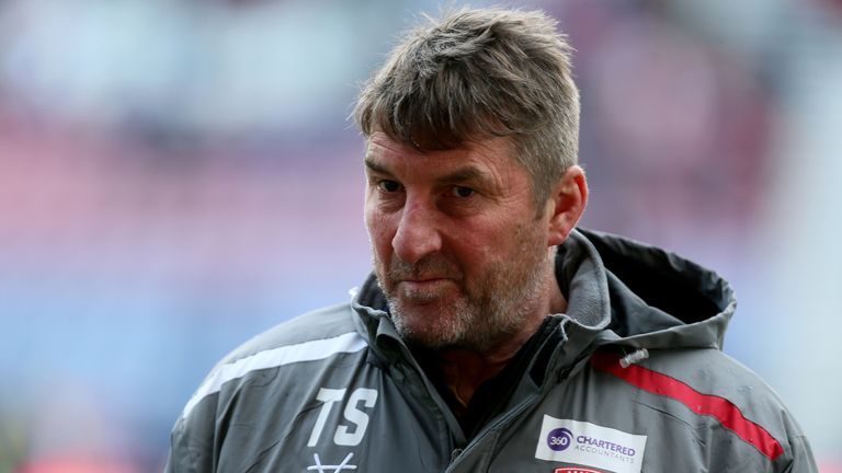 Hull KR head coach Tony Smith explained how he coped in difficult circumstances