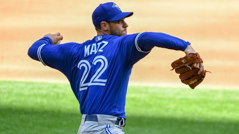 Blue Jays pitcher Steven Matz said the crowd gave players 'that extra adrenaline'
