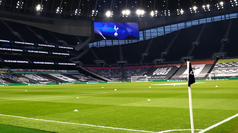 Eric Dier wants to have his ashes buried at the Tottenham Hotspur Stadium
