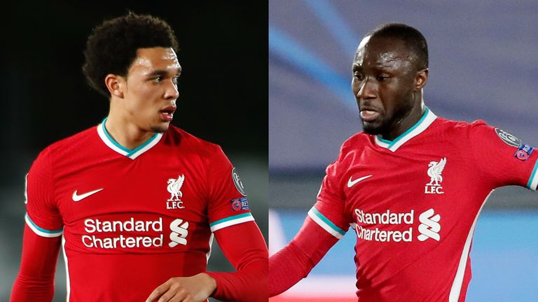 Trent Alexander-Arnold and Naby Keita received online abuse following Liverpool's defeat to Real Madrid