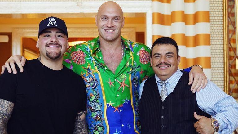 Andy Ruiz, Tyson Fury, Jorge Capetillo