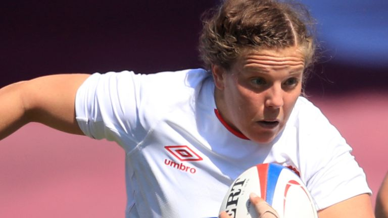 Vickii Cornborough feels the increasingly competitive domestic game in England has made an enormous difference at international level