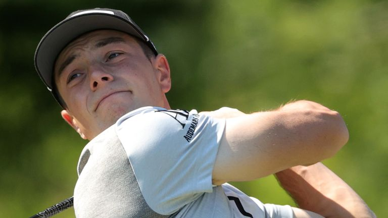 Viktor Hovland teamed up with Kristoffer Ventura to post a combined ten-under 62