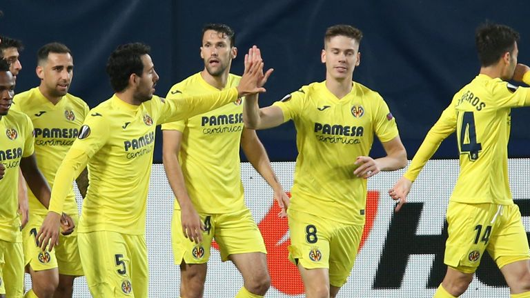 Villarreal took a deserved two-goal lead in the first half
