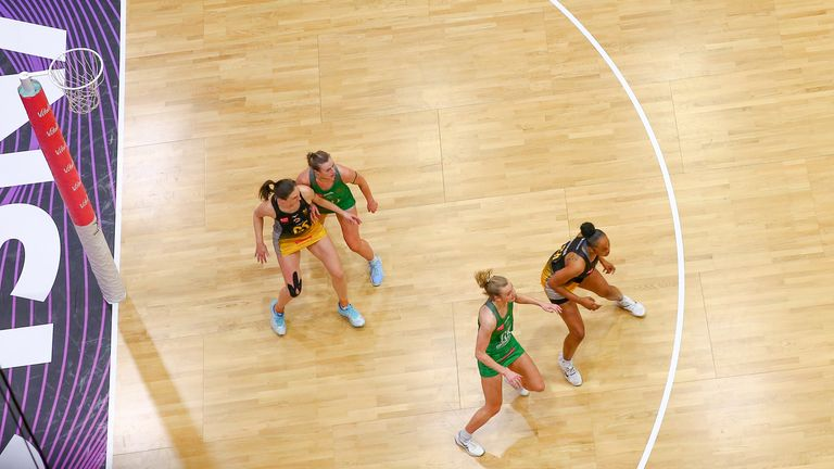 Rachel Dunn continues to thrive in Wasps' shooting circle (Image Credit - Ben Lumley)