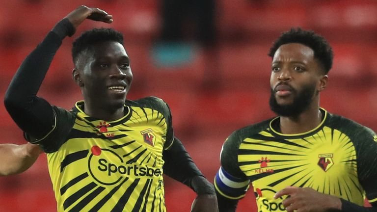 Ismaila Sarr's double edged Watford closer to a Premier League return.