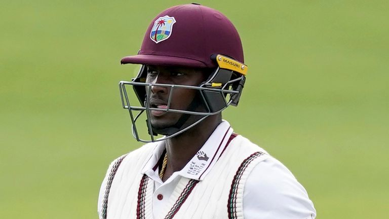 Jason Holder has been chosen as one of Wisden's five Cricketers of the Year