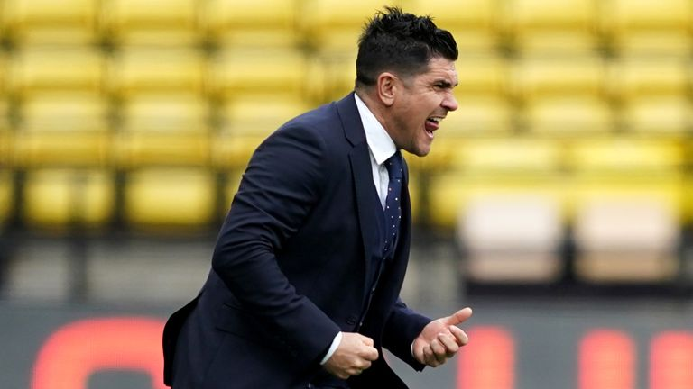Xisco Munoz has won 15 of his 22 games in charge of Watford so far