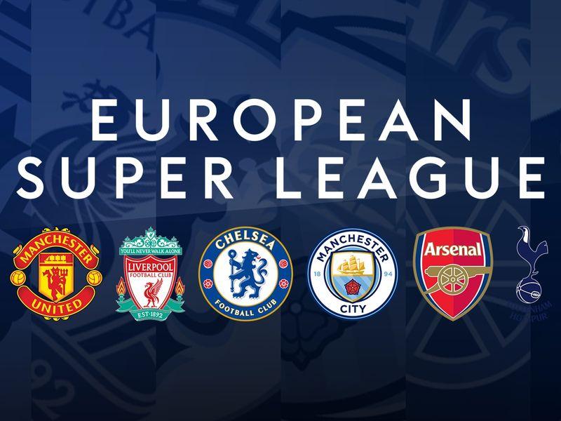 Man Utd, Liverpool, Chelsea, Arsenal, Man City, and Tottenham agree to join European  Super League | Football News | Sky Sports
