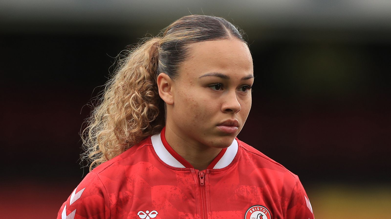 Ebony Salmon: Bristol City and England striker in talks with NWSL side Racing Louisville
