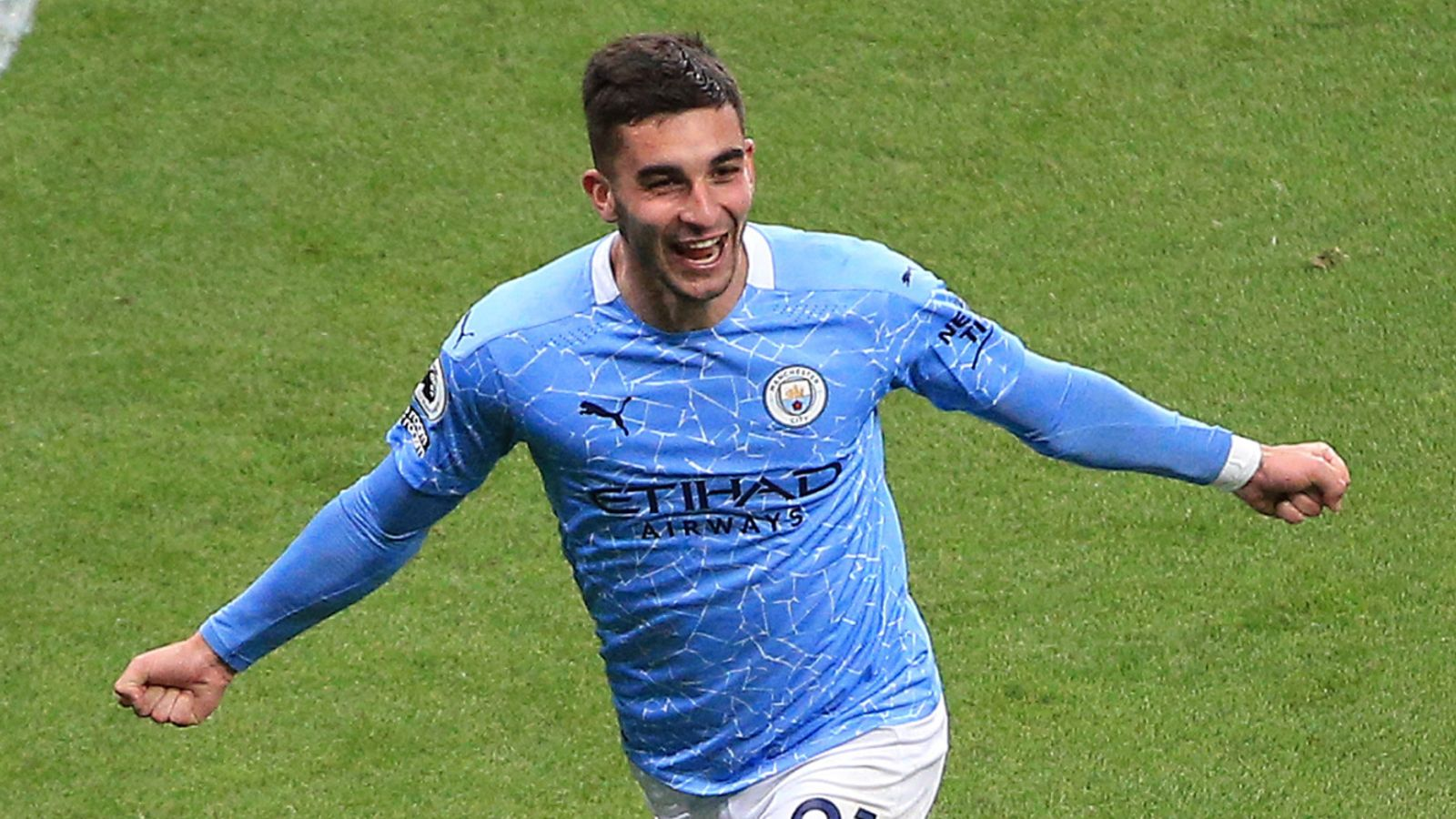 Newcastle 3-4 Man City: Ferran Torres hat-trick helps newly-crowned Premier League champions to victory