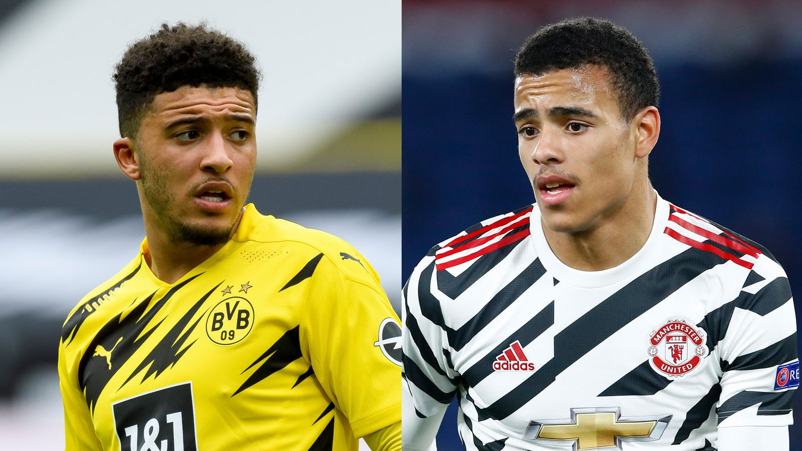 Jadon Sancho vs Mason Greenwood: Who is more likely to be part of England's Euro 2020 squad?