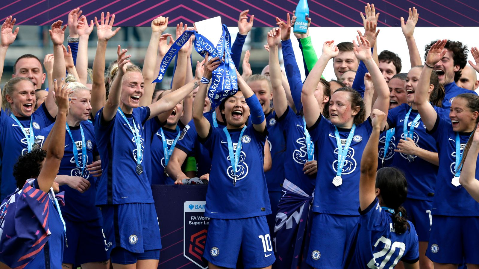 Women's Super League round-up: Chelsea crowned champions, Bristol C relegated