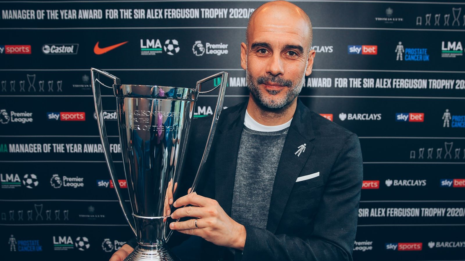 Pep Guardiola: Manchester City boss named LMA manager of the year