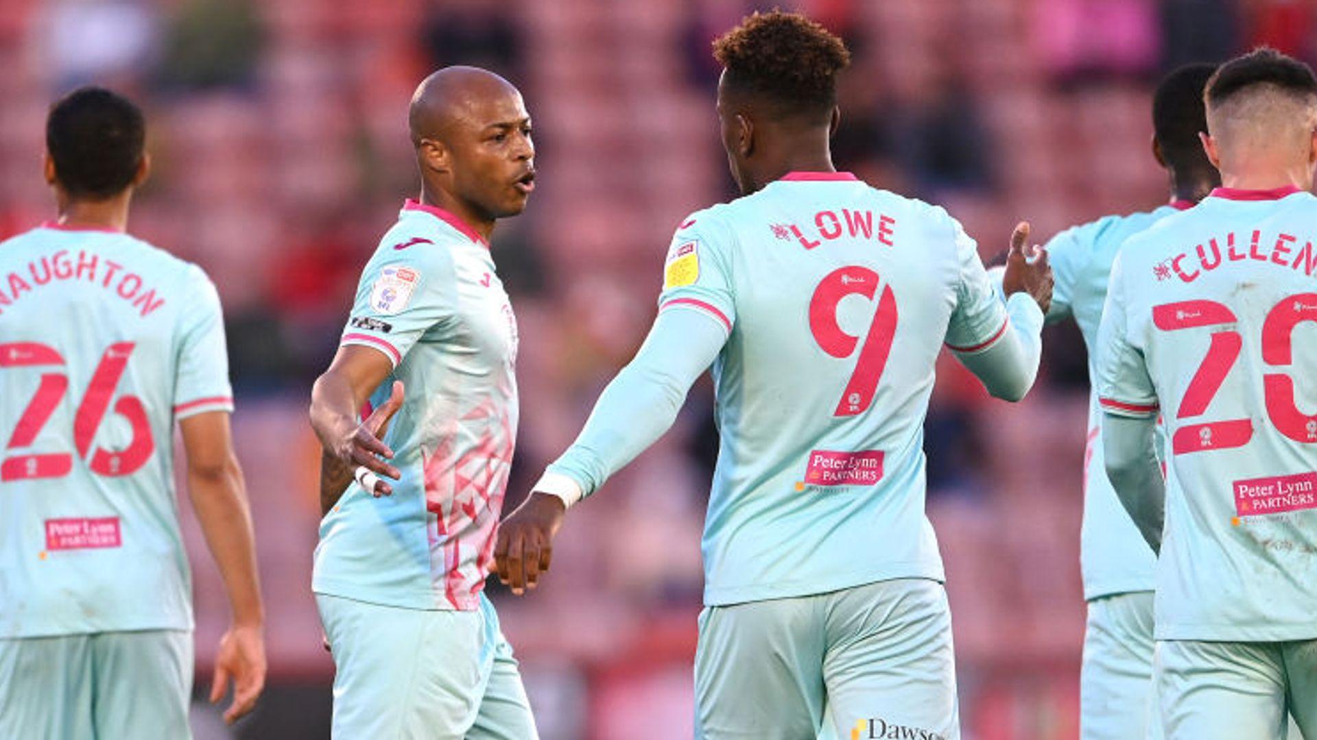 Ayew hands Swansea advantage over Barnsley