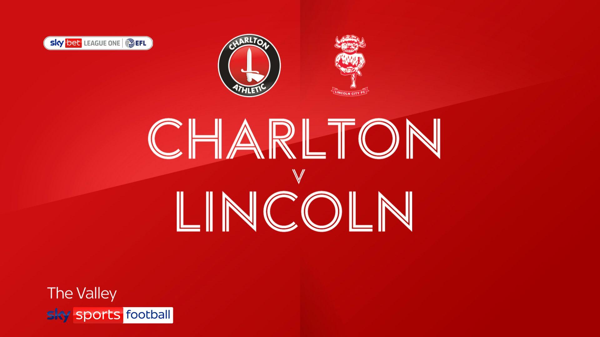 Charlton 3 – 1 Lincoln