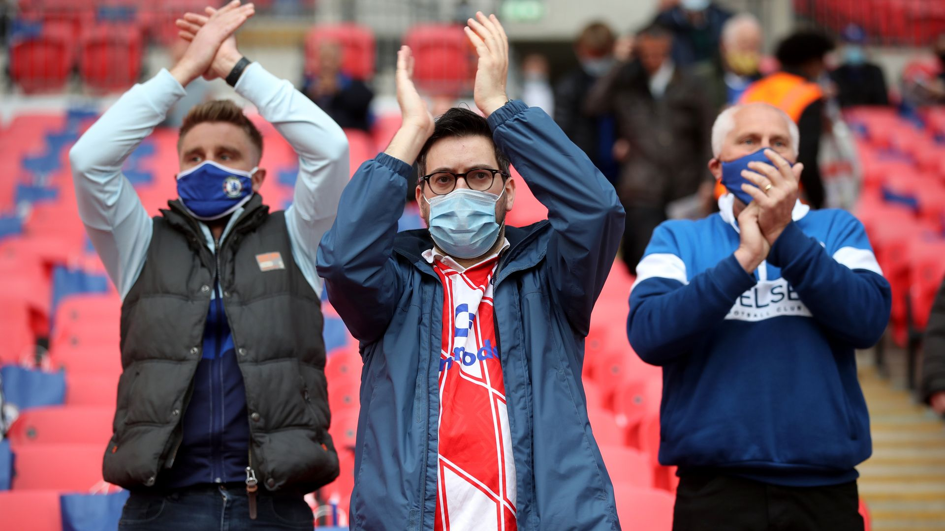 Sports fans return as restrictions ease