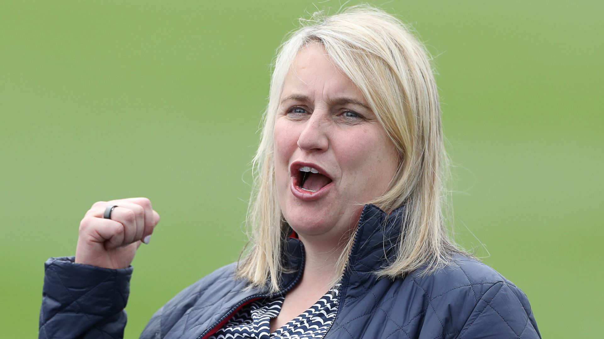 Emma Hayes: Chelsea boss says winning is in the DNA of the club after historic