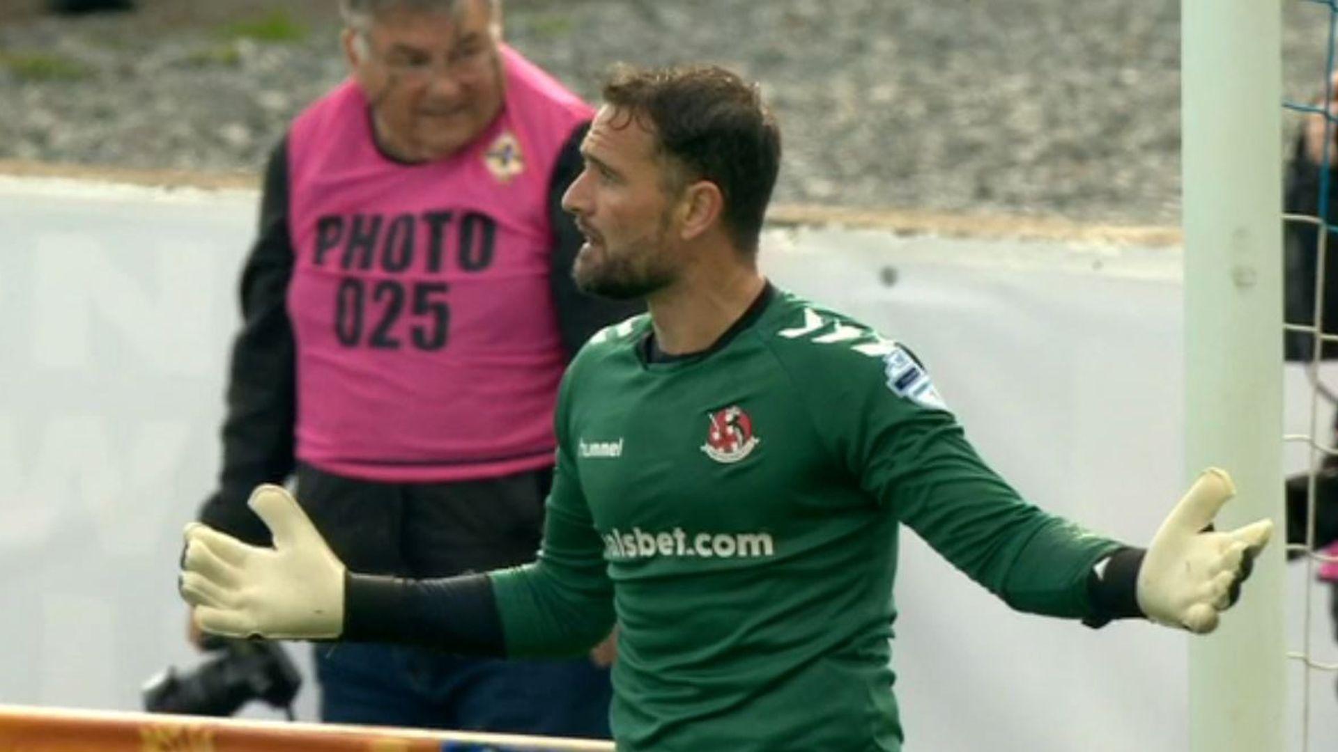 Crusaders seek legal action over Irish Cup SF exit