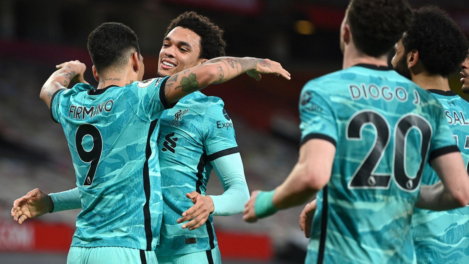 Liverpool beat Man Utd in thriller to reignite top-four bid