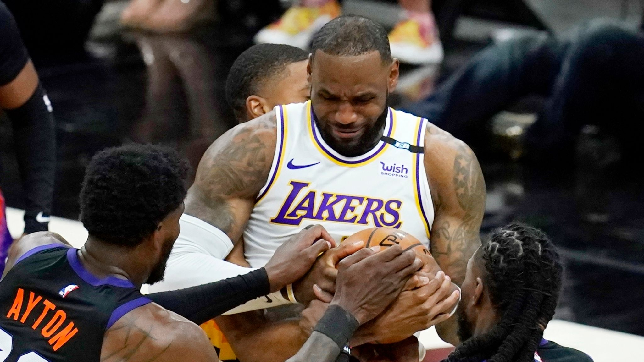LeBron James, Lakers need more from Anthony Davis in Game 2, while ...