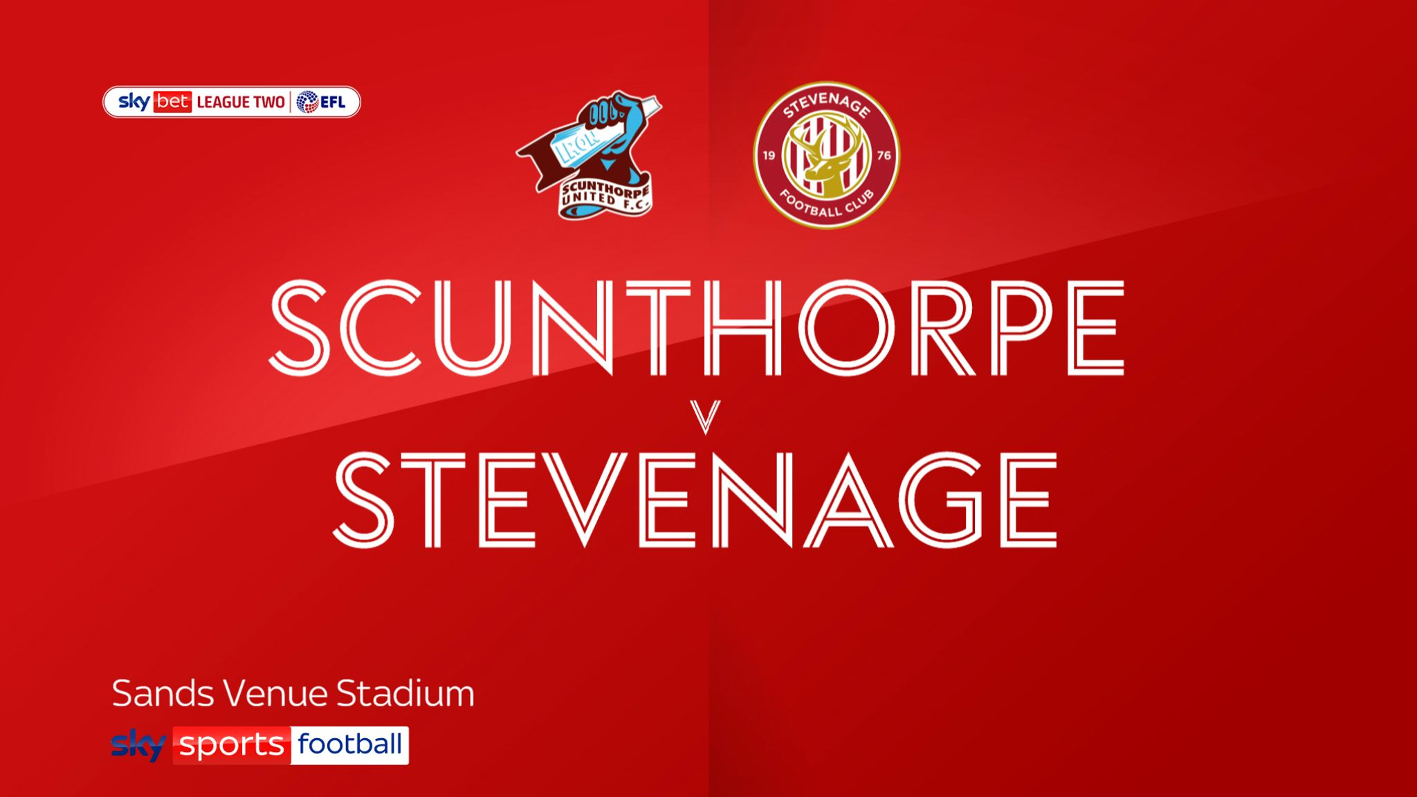 Scunthorpe 0-1 Stevenage: Elliott List strike ensures Boro end with a win