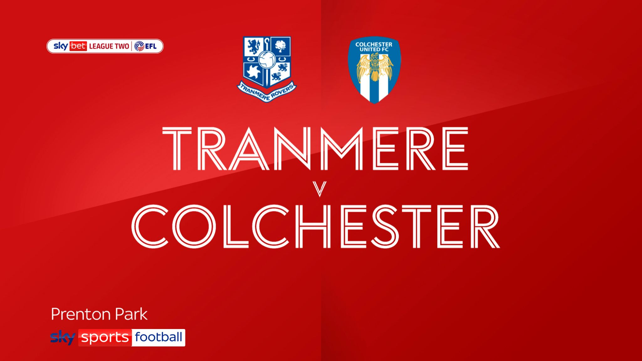 Tranmere 0-0 Colchester: Rovers reach play-offs despite stalemate at Prenton Park