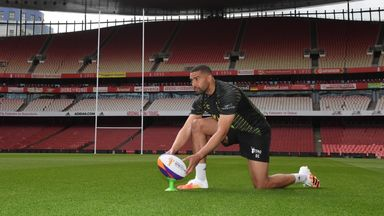 London-born Jamaica winger Omari Caro cannot wait for the Rugby League World Cup to come to the Emirates Stadium