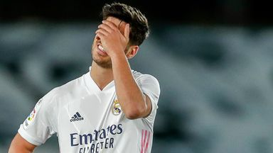 Real Madrid were held to a 2-2 draw by Sevilla on Sunday