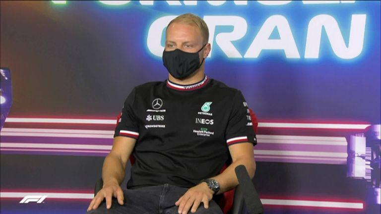 Valtteri Bottas is adamant Mercedes won't replace him in the car this season.