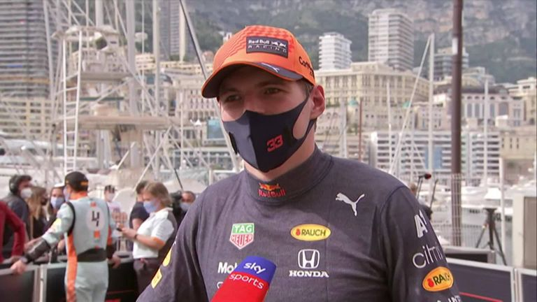 Max Verstappen looks back at his maiden Monaco Grand Prix win that takes him top of the drivers' championship, on the day he felt he redeemed all previous outings at Monte Carlo