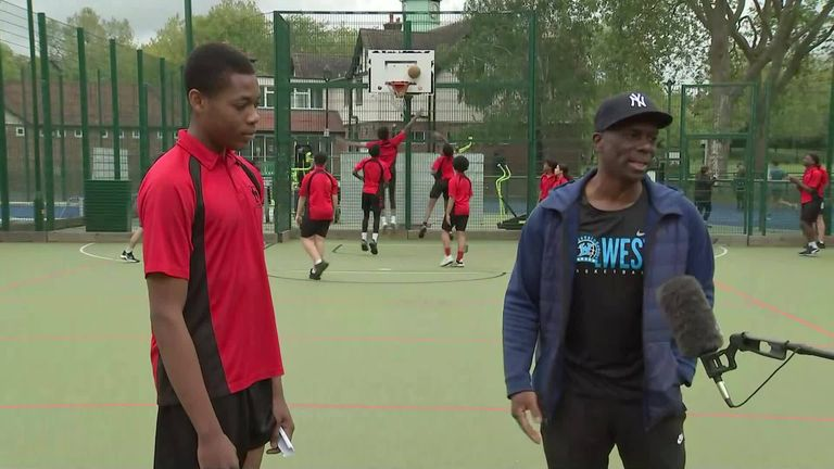 Sky's Gail Davis spent the day with Westminster City Council who are using sport and community to help young people to succeed and inspire equality and diversity